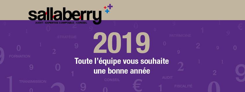 Carte de voeux 2019 Sallaberry